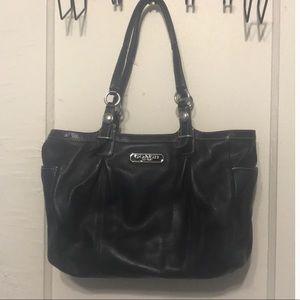Coach Leather Black Bag